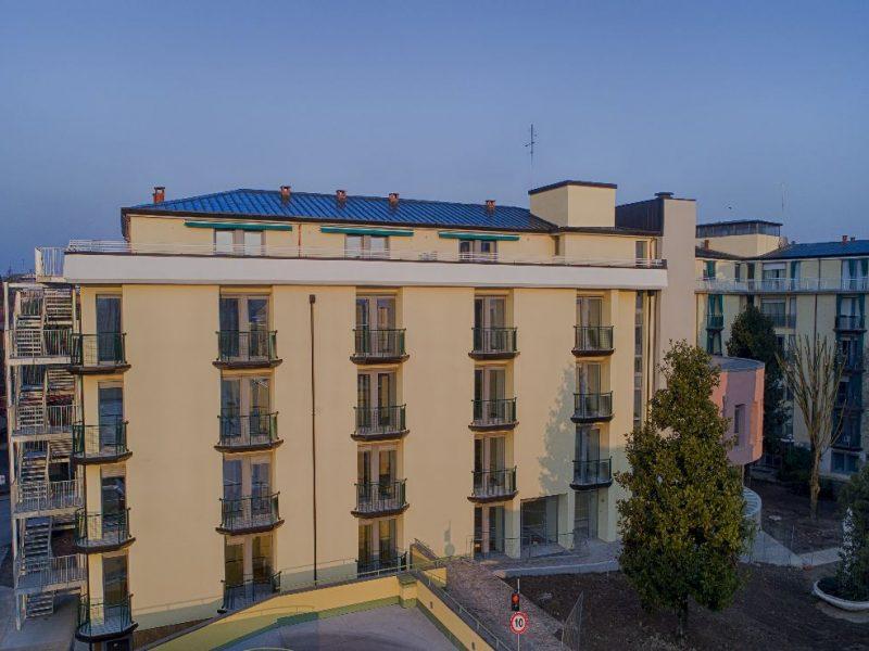 vista facciata esterna Residence De Gasperi
