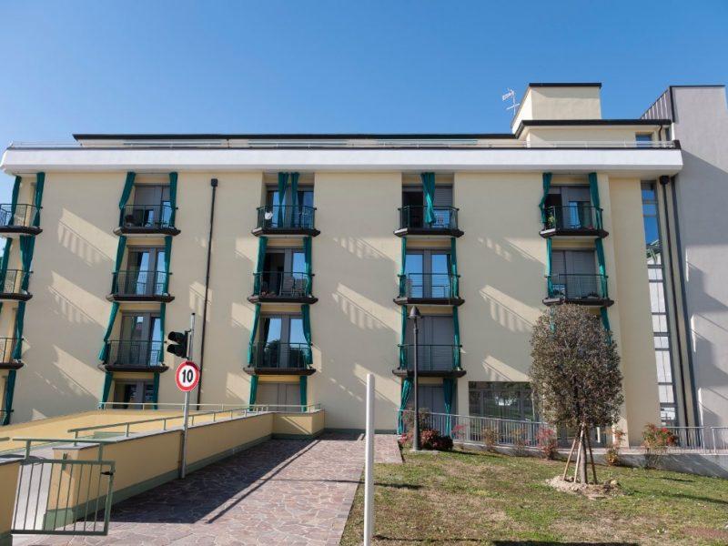 esterno del Residence De Gasperi per autosufficienti